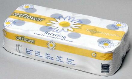Hygienepapier und Spender