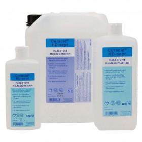 Seifen und Händedesinfektion