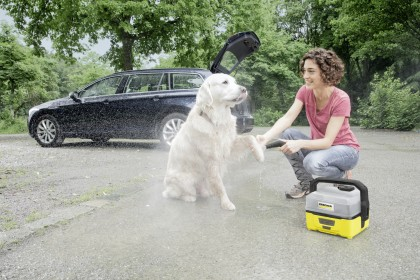 Mobile Outdoor Cleaner