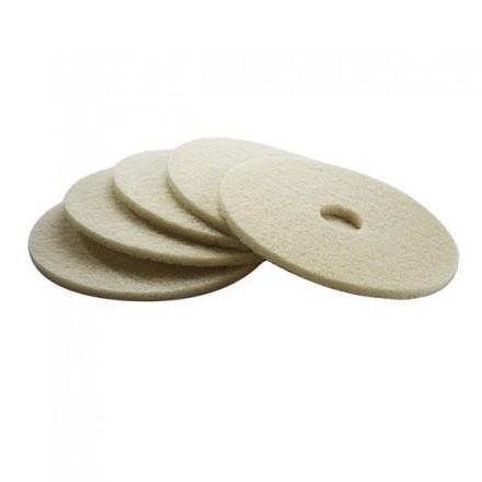 Kärcher Pad 432 mm, weich, beige ( 5 Stck.)