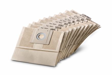 Kärcher Papierfiltertüten 2-lagig 10 Stk.(BV 5/1 , BV 5/1 Bp)