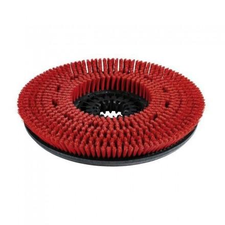 Kärcher Scheibenbürste 300 mm, mittel, rot